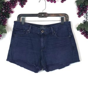 Lucky brand denim cut-off shorts